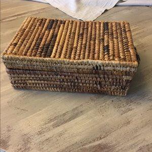 Other - Rwandan Banana leaf weaved basket